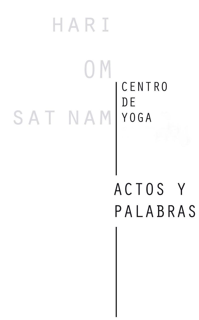 Yoga Actos y Palabras